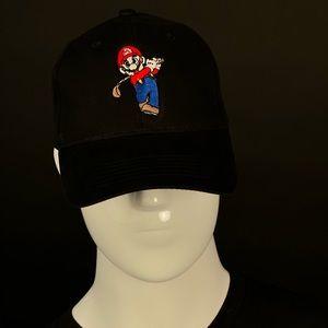 Super Mario golfing hat